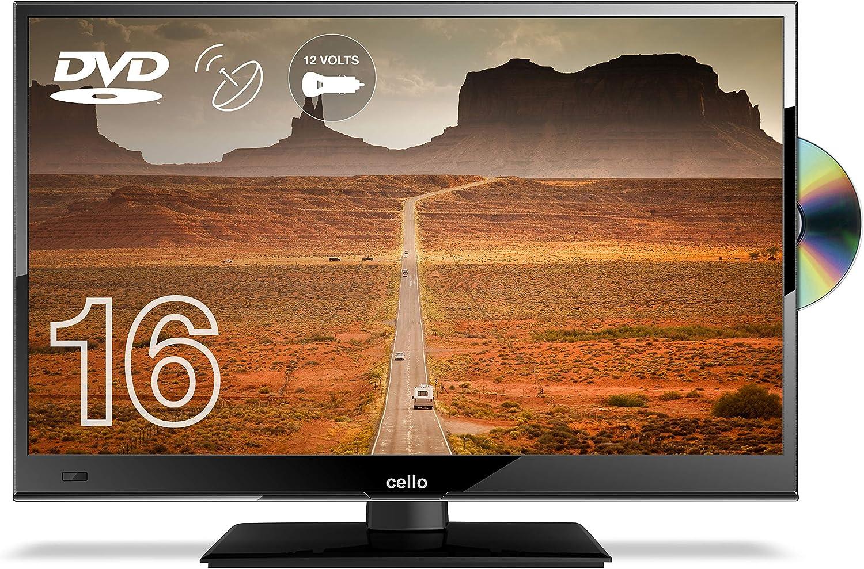 12 Volt TV Outlet 12/24vtvdvd - Televisor de 16, Negro [Importado]: Amazon.es: Electrónica