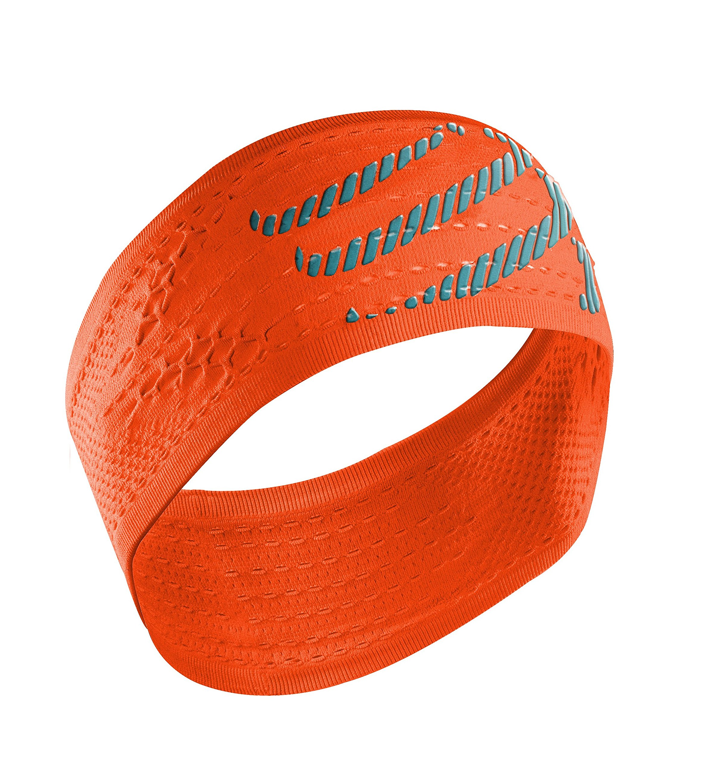 Compressport Headband On/Off Cinta, Unisex, Naranja flúor, Talla Única product image