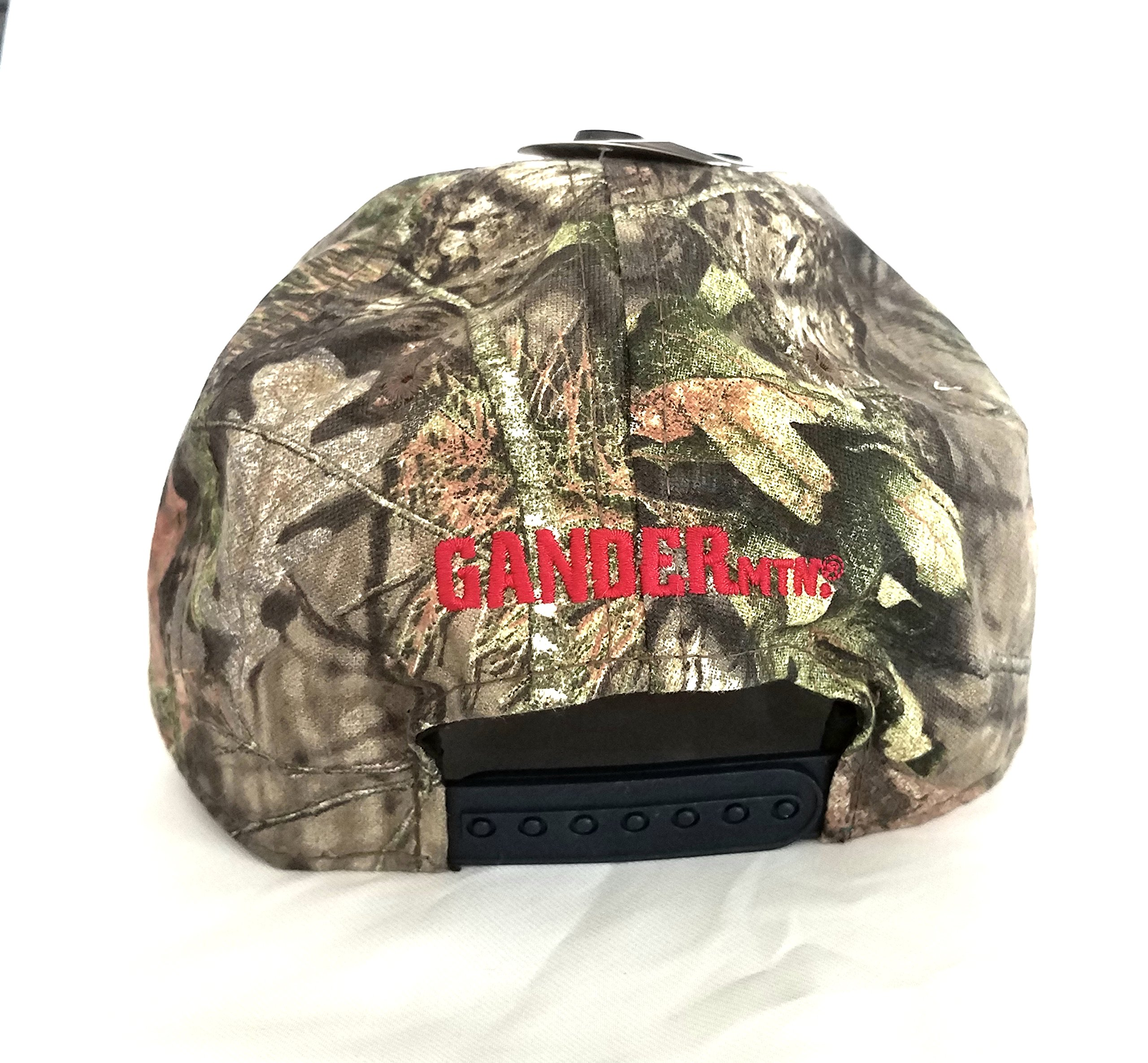 Mossy Oak Camping, Hunting, Outdoors American Flag Camo Cap, Army Military Camo Cap Baseball, Camouflage Hat by Mossy Oak (Image #3)
