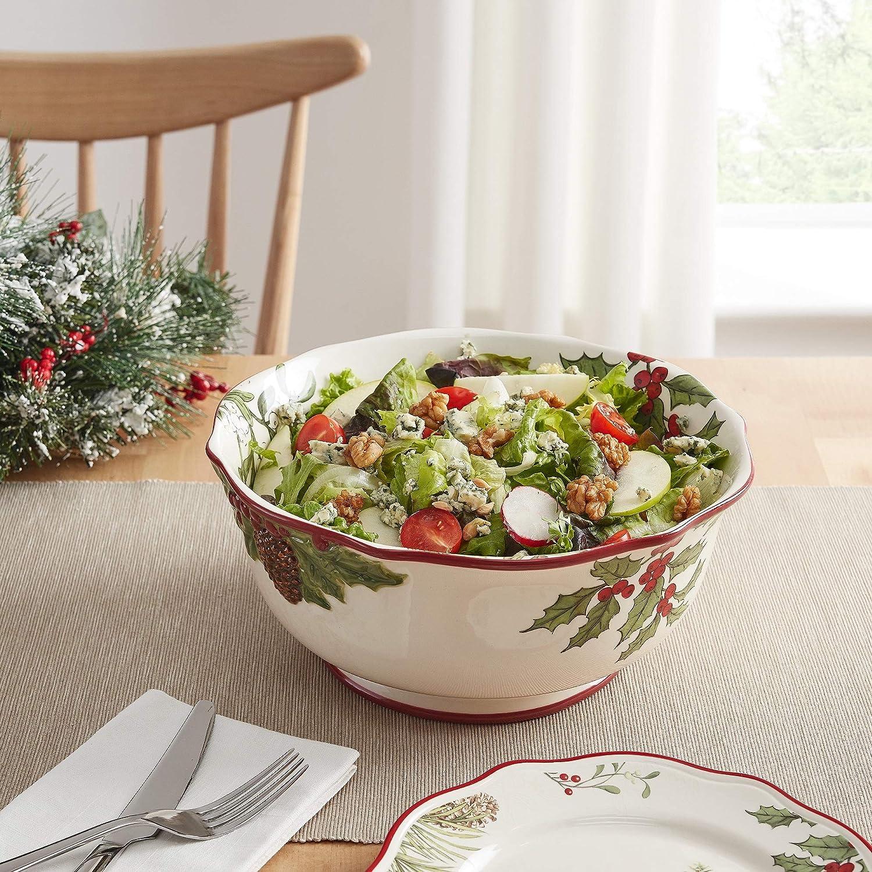 Better Homes & Gardens Heritage Christmas Serving Bowl - Set of 2
