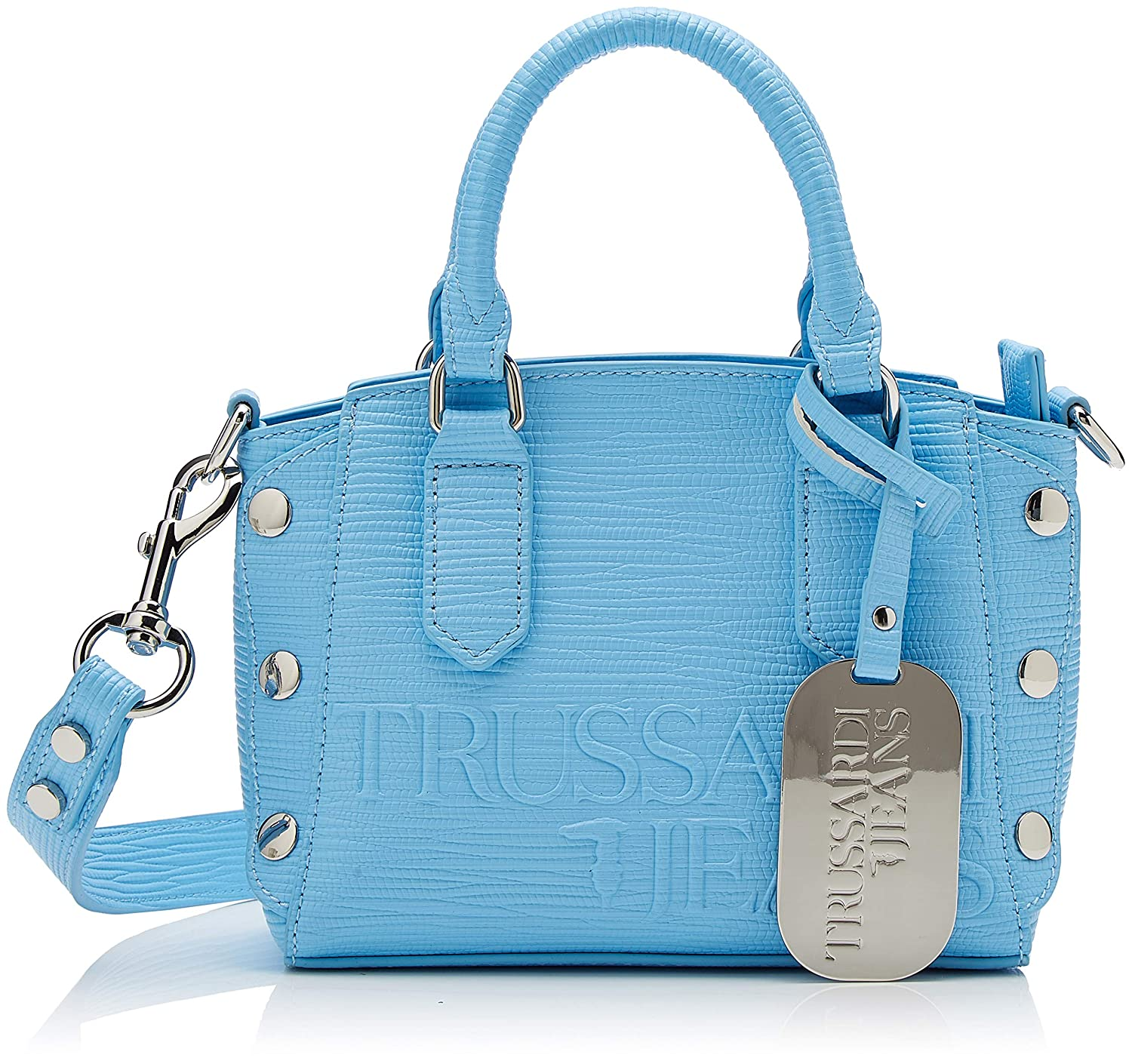 bluee (Light bluee) Trussardi Jeans Women's Melly Tote Xs Tote Bag