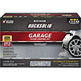 Rust-Oleum 293513 Rocksolid Polycuramine Garage Floor Coating, 2.5 Car Kit, Gray