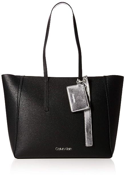 00b4a0f123c Calvin Klein Jeans Ck Base Large Shopper, Women's Shoulder Bag, Black,  16x32x50 cm