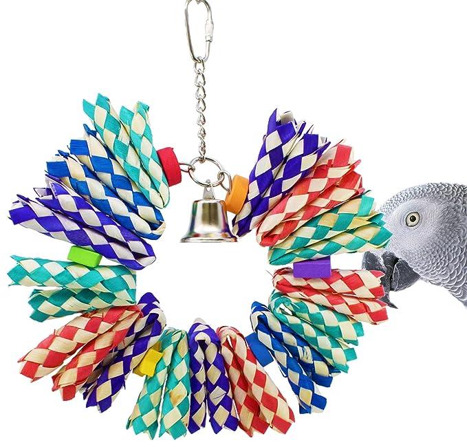 1139 ShredBurst Bonka Bird Toy Cage Toys Cages Foraging Chew Shredder Conure