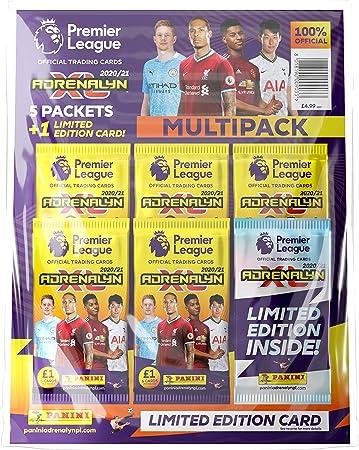 Panini- Premier League 2020/21 Adrenalyn XL Multipack (PLA2021MP): Amazon.es: Juguetes y juegos