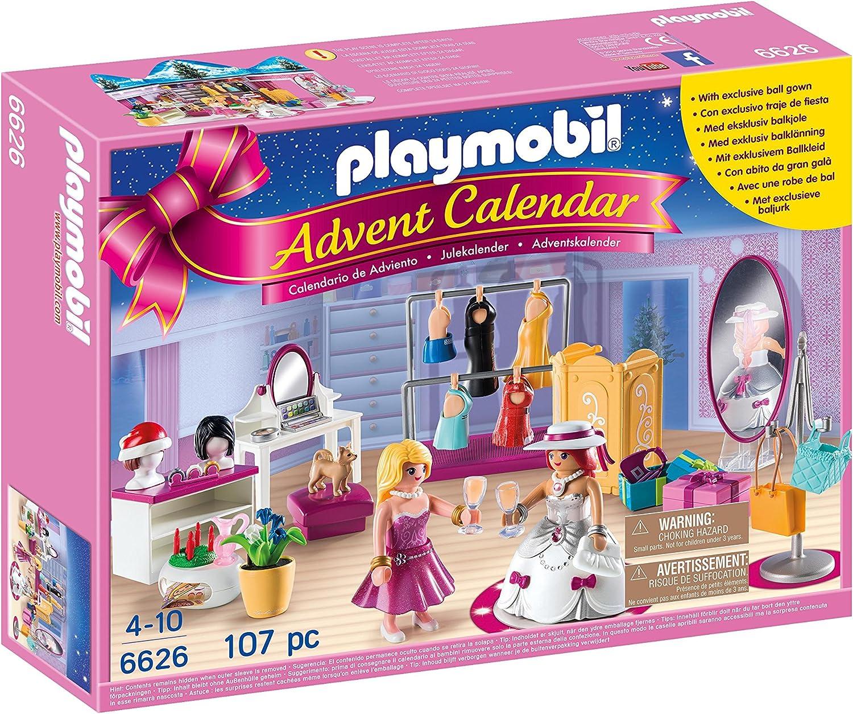 PLAYMOBIL Playmobil-6626 Calendario de Adviento Fashion, Color ...