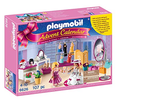 Playmobil 6626 Advent Calendar 'Dress Up Party' with Exclusive Ball Gown