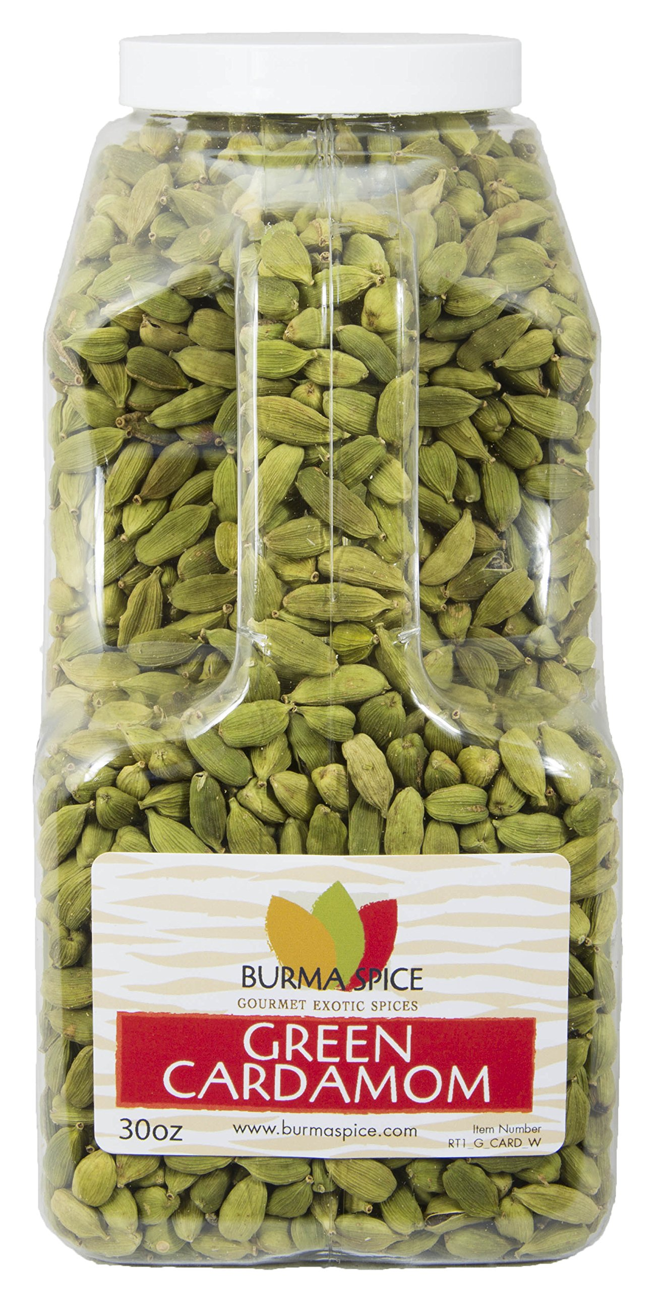 Green Cardamom Pods : Dried Indian Spice : Kosher (30oz.)