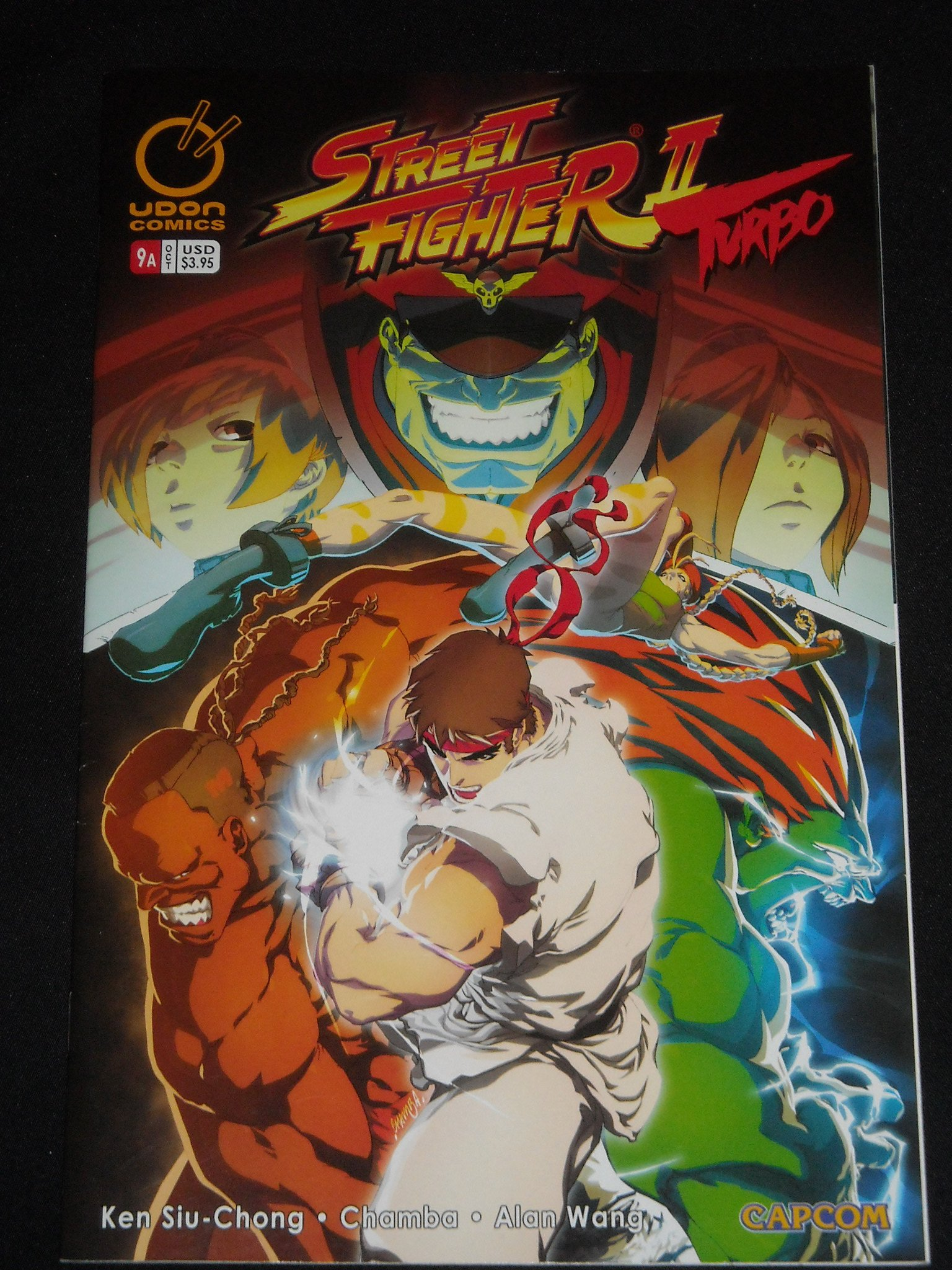 Street Fighter 2 Turbo 9 Cover A Bisen Ken Ryu Street