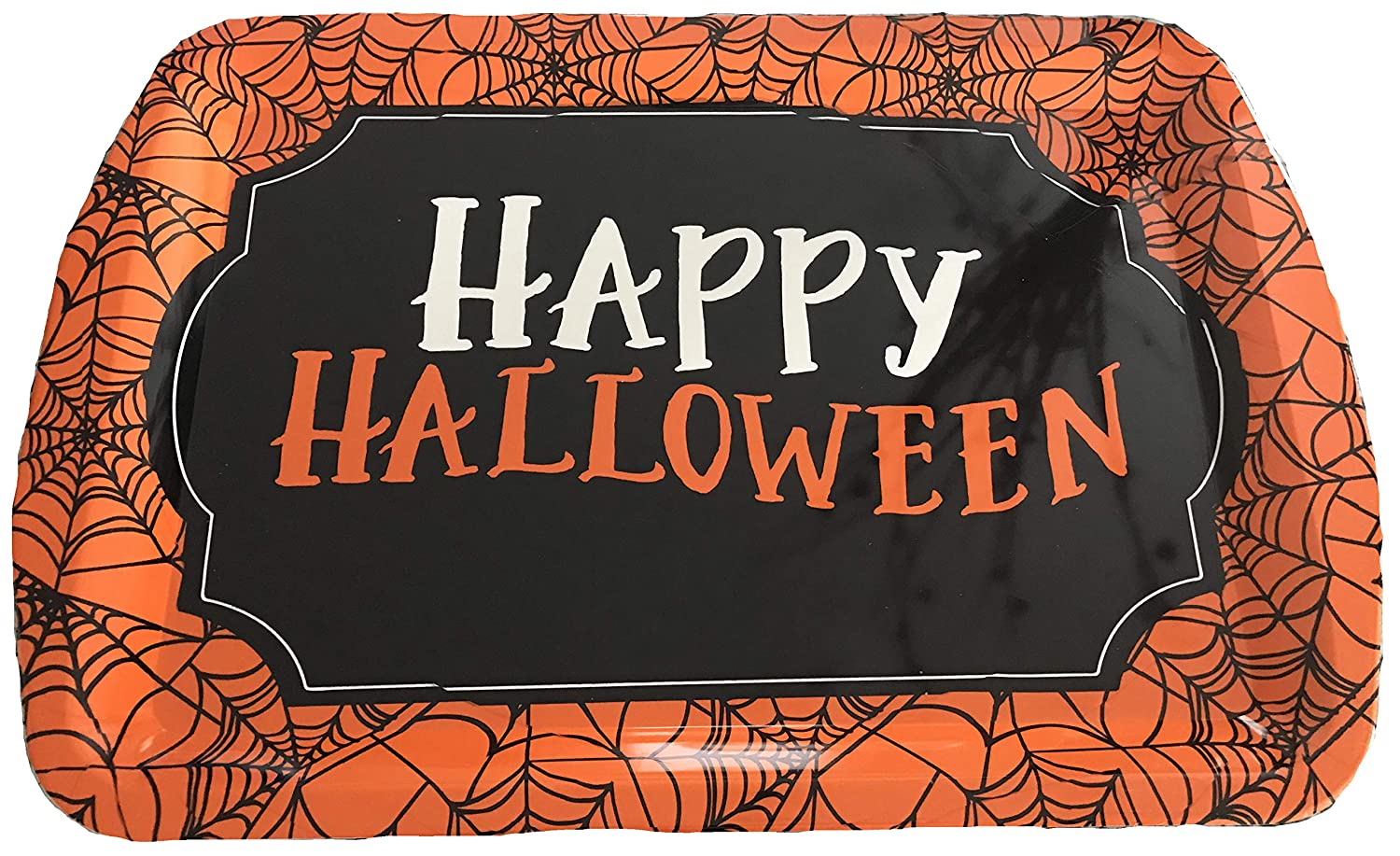 Halloween Serving Tray, Heavyweight Quality, Perfect For Trick or Treaters, Cookies, Cupcakes, Candy, Parties, School Spookytime