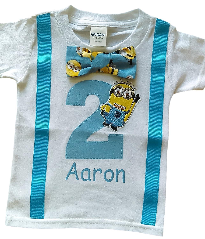 Amazon 2nd Birthday Shirt Boys Minions Tee