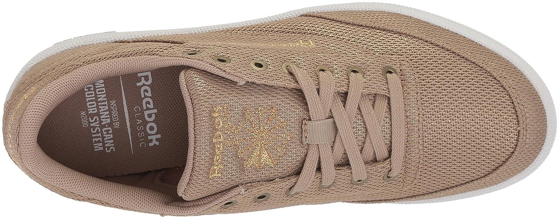 7d686728fd8 Reebok Women s Club C 85 Metallic Mesh Walking Shoe