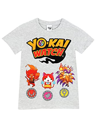 Yo-kai Watch Boys Yokai Watch T-shirt Size 6