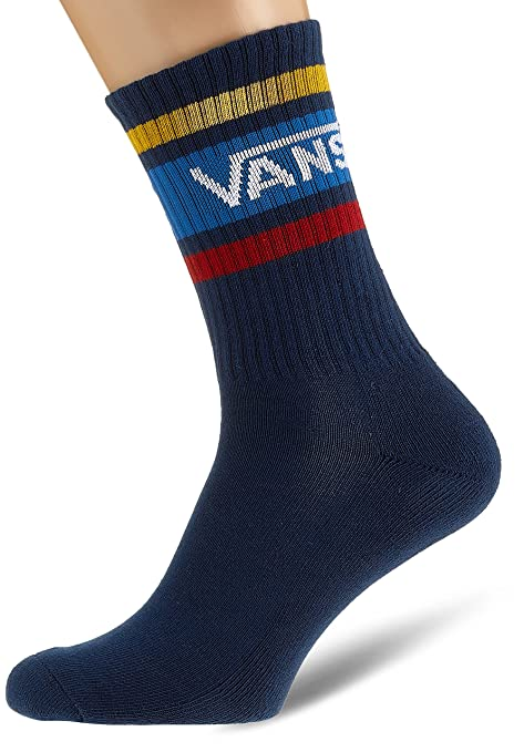 Vans_Apparel Tribe Crew (6.5-9, 1p), Calcetines para Hombre, Multicolor