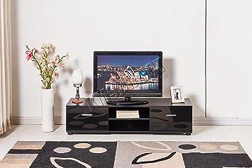 WestWood TVC01 - Mueble Moderno para televisor (120 cm), Color ...