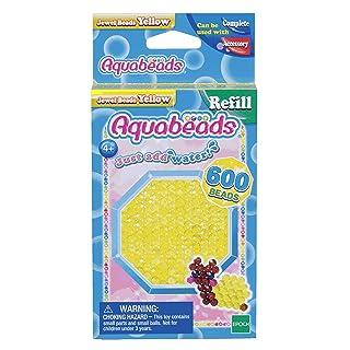 Aquabeads Jewel Bead Refill Pack, Yellow