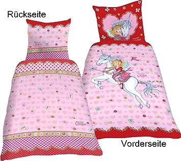 Prinzessin Lillifee Bettwäsche Einhorn Rosalie Flanell 135x200 Cm