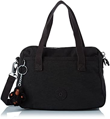 ef5a9ee1cfc Kipling Womens Emoli Shoulder Bag Black 24 x 18 x 12 cm: Amazon.co ...