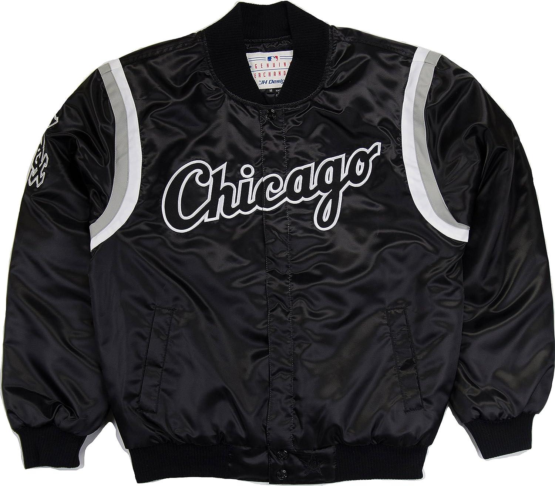 JH DesignWhite Sox Nylon Jacket