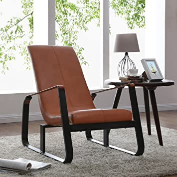New Pacific Direct Belt Accent Chair With Black Frame Cast Iron