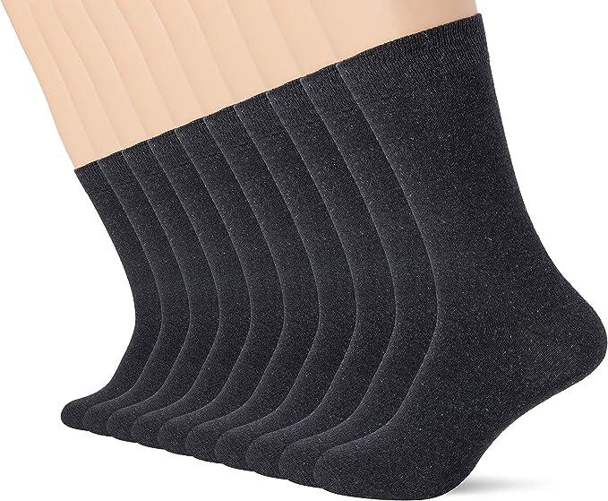 FM London Smart Calcetines de vestir (Pack de 10) para Hombre ...