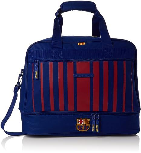 Safta Bolsa De Deporte F.C. Barcelona 17 18 Oficial Con Zapatillero  480x270x380mm 7c3c9753a5f
