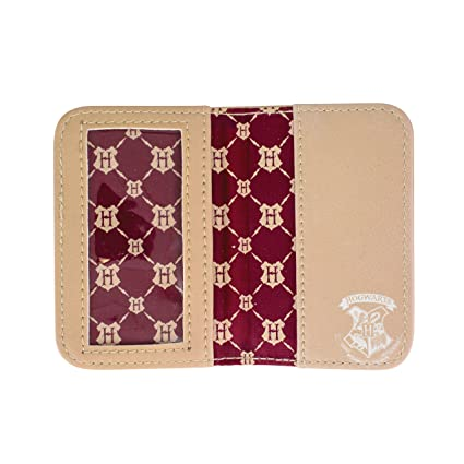 Amazon.com | Harry Potter Hogwarts Travel Card Holder Passport Wallet, 10 cm, Multi | Passport Wallets