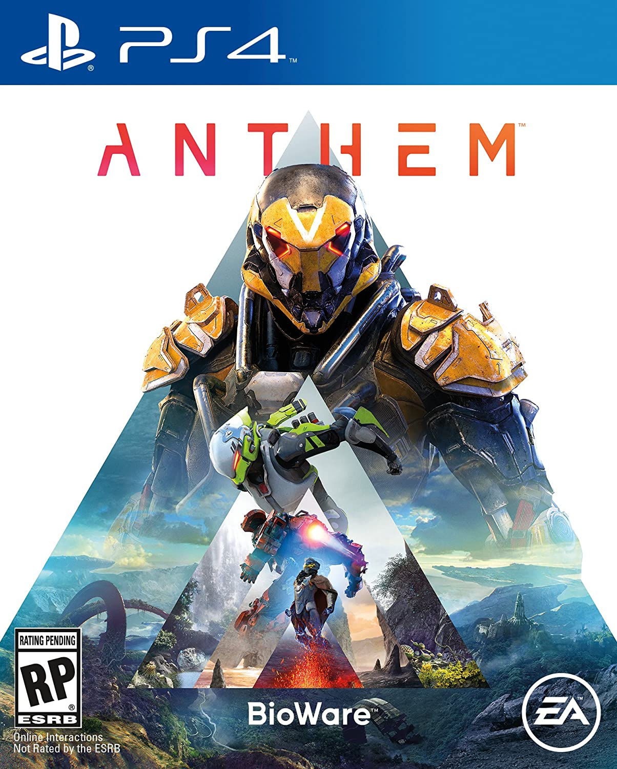 Amazon com: Anthem - PS4 [Digital Code]: Video Games