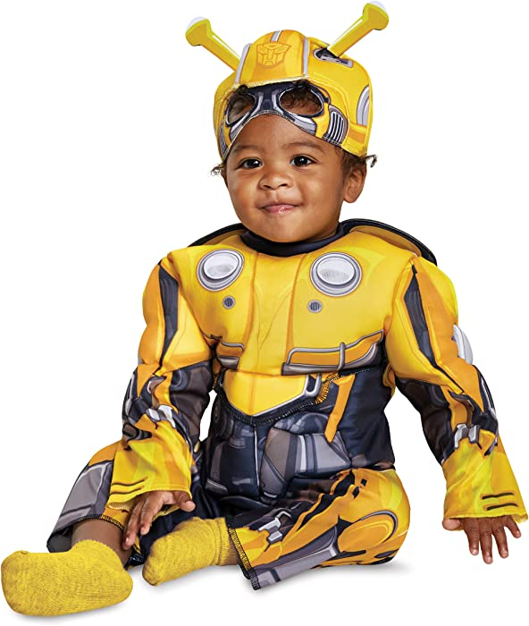 e5f74f7db8d Amazon.com  Disguise Bumblebee Infant Muscle Child Costume