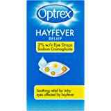 Optrex Hayfever Relief Allergy Eye Drops, 10 ml