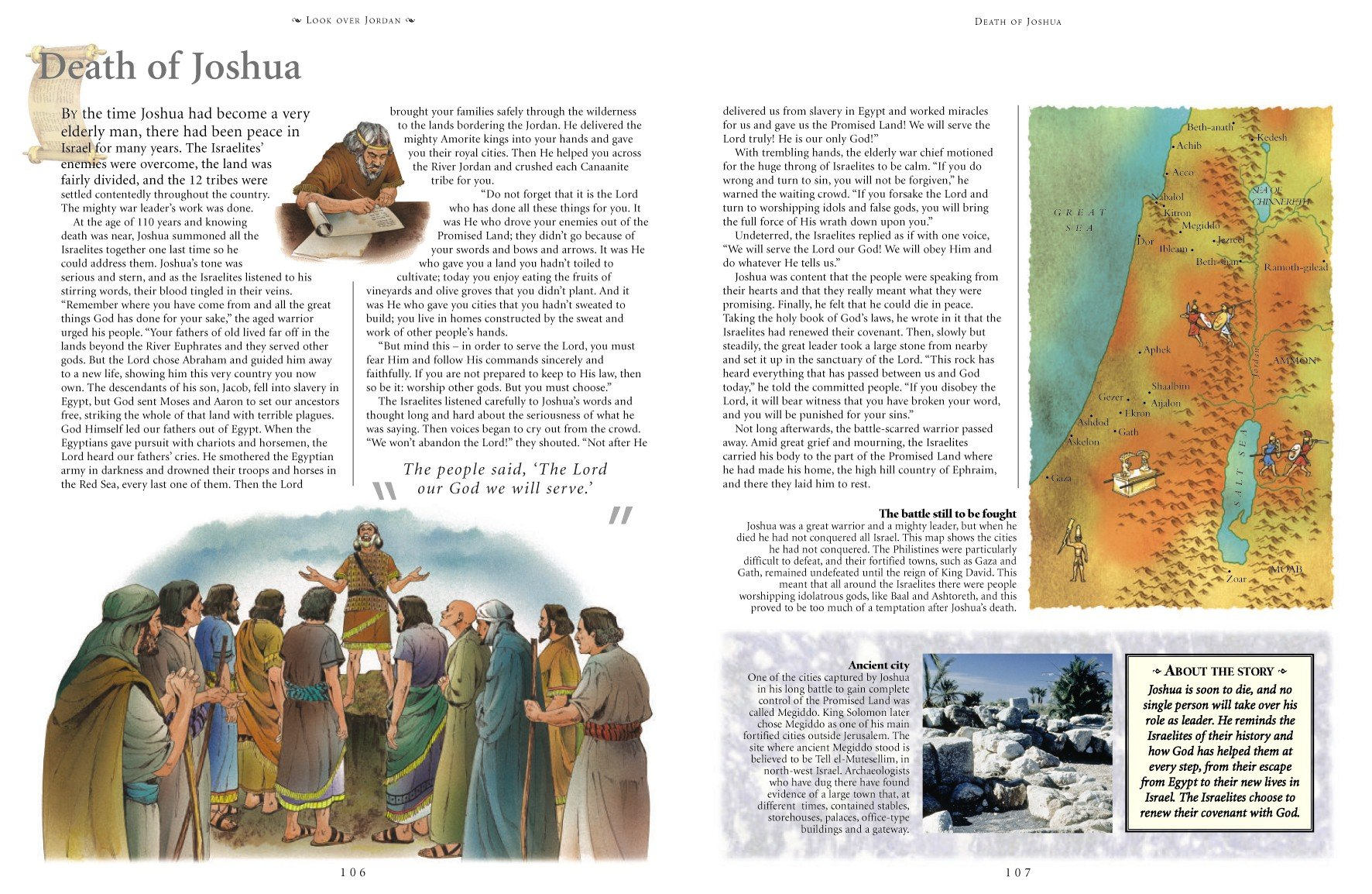 The Illustrated Children s Bible The Most Famous And Treasured