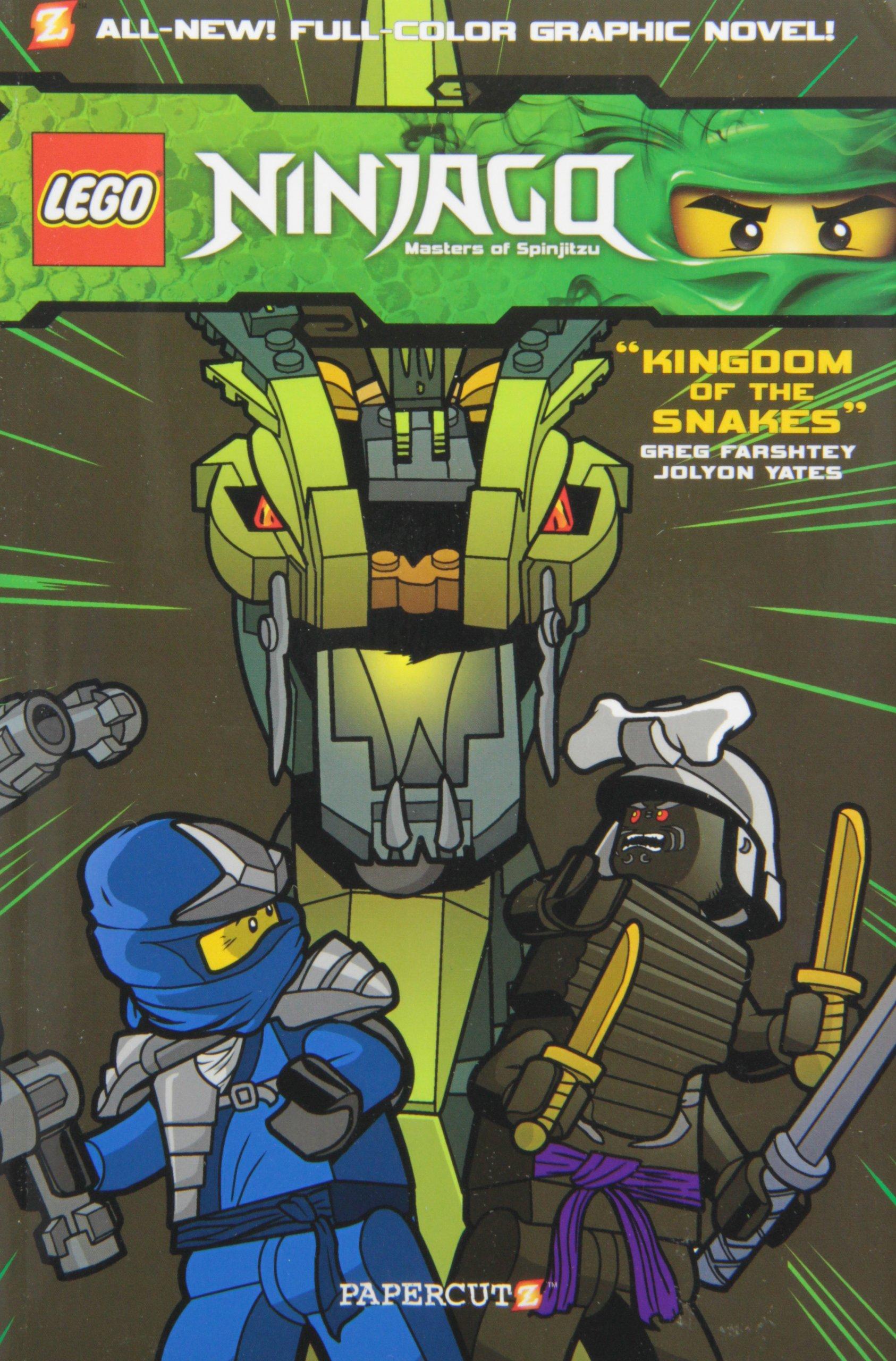 LEGO® Ninjago #5: Kingdom of the Snakes: Greg Farshtey ...