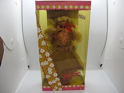 Amazon.com: Australian Barbie - Dolls of the World Collection: Toys ...