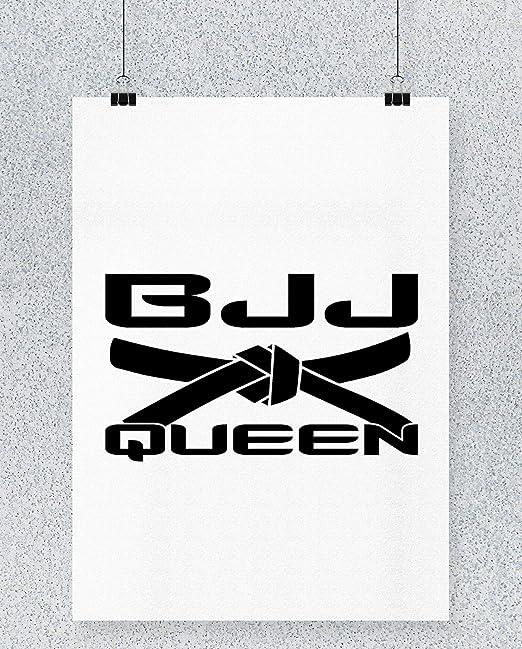 Compra Hippowarehouse BJJ Queen Cartel Impreso Pared Arte ...