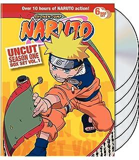 Amazon com: Naruto Uncut Boxed Set, Volume 1 (Special