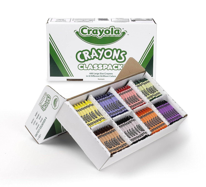 Crayola Llc 400 Large SizeクレヨンClasspack 528038 B00QFWX1OY 3