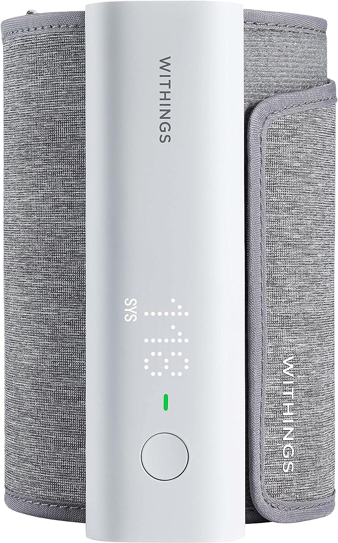 Withings BPM Connect - Tensiomètre électrique à bras, Synchronisation Wi-Fi