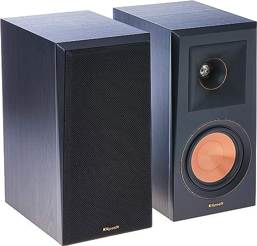 Klipsch RP-500M Bookshelf Speakers Pair Ebony