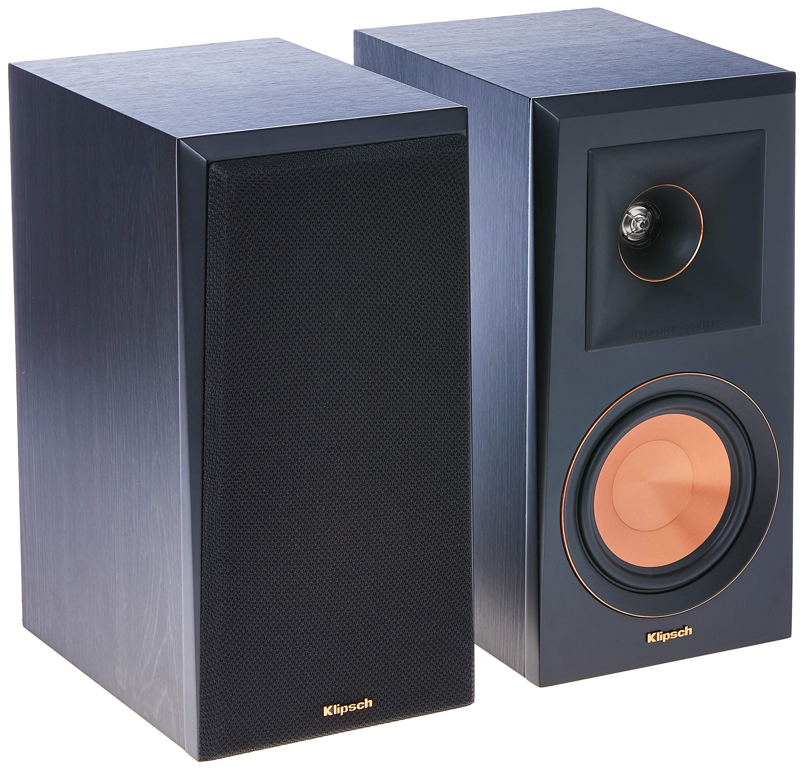 Klipsch RP-500M Bookshelf Speakers (Pair) (Ebony)