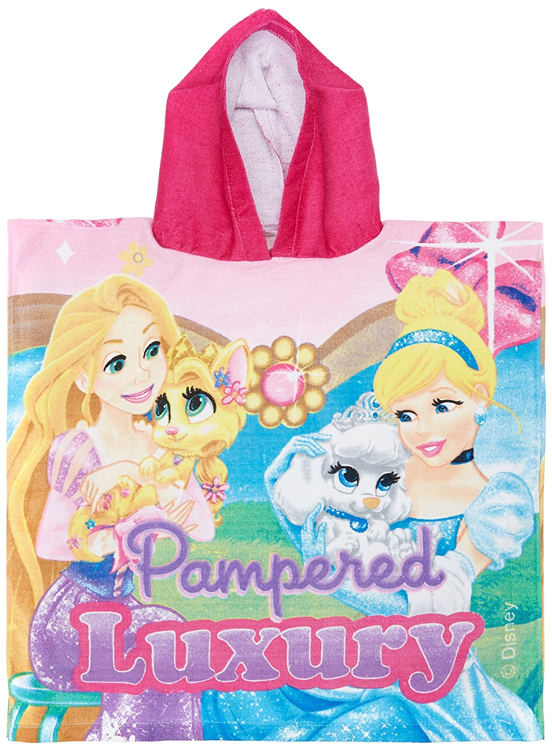 Princess Palace Pets WD15090 Poncho Towel (Cape de Bain) Disney