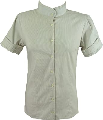 KIMO - Camisas - para mujer beige beige: Amazon.es: Ropa y ...