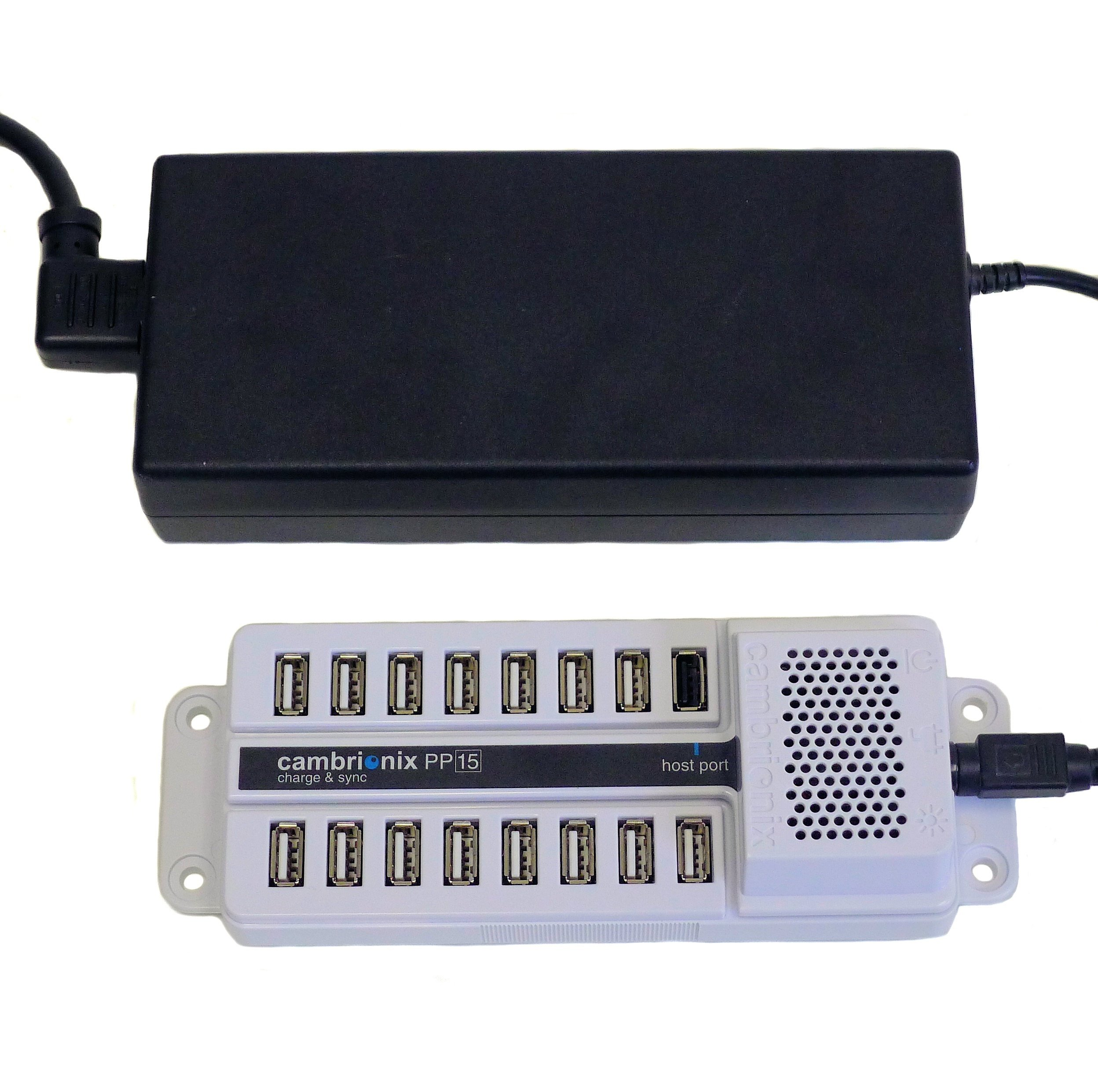 Datamation Systems Universal 15-Port USB Sync & Charge Station (DS-SC-PP15) by Datamation Systems