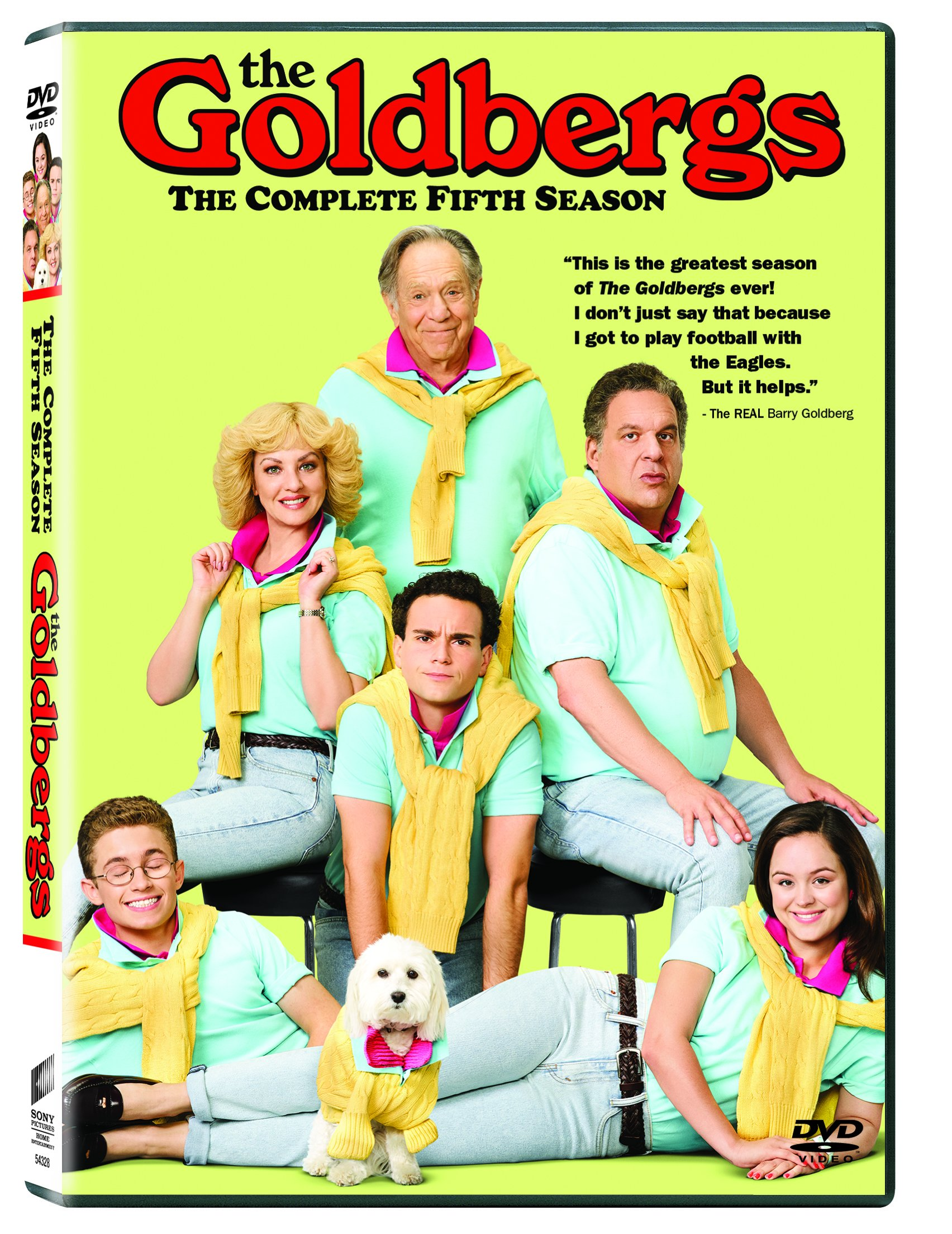 DVD : The Goldbergs: The Complete Fifth Season (Widescreen, Dolby, AC-3, 3 Pack, Subtitled)