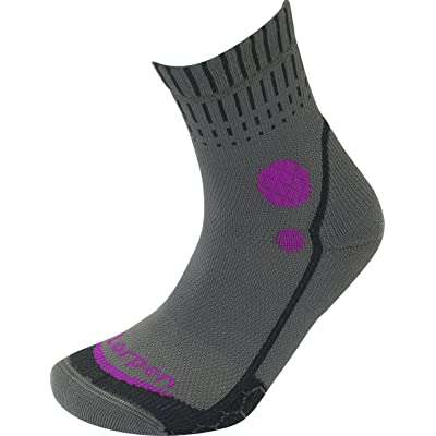 .com : Lorpen T3 Running Mid Crew Socks : Clothing