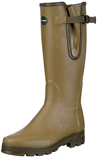 complete in specifications brand new Super discount Le Chameau Neoprene Vierzonord Wellington Men's Boots