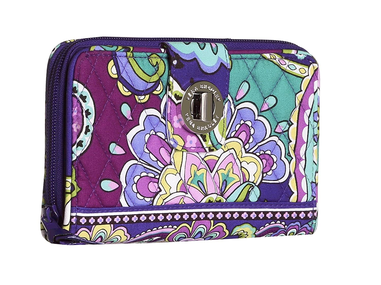 Vera Bradley Turnlock Wallet, Signature Cotton 10913-165