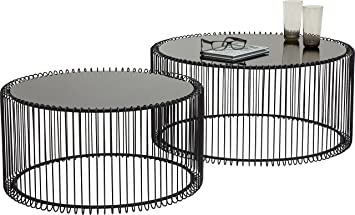 wire coffee table. KARE Design Wire Coffee Table, Metal, Black Table