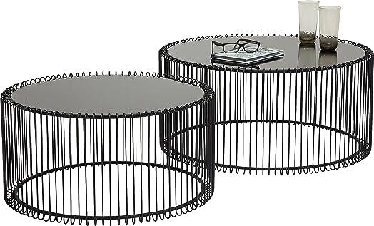 Kare design wire coffee table metal black amazon kitchen kare design wire coffee table metal black greentooth Choice Image