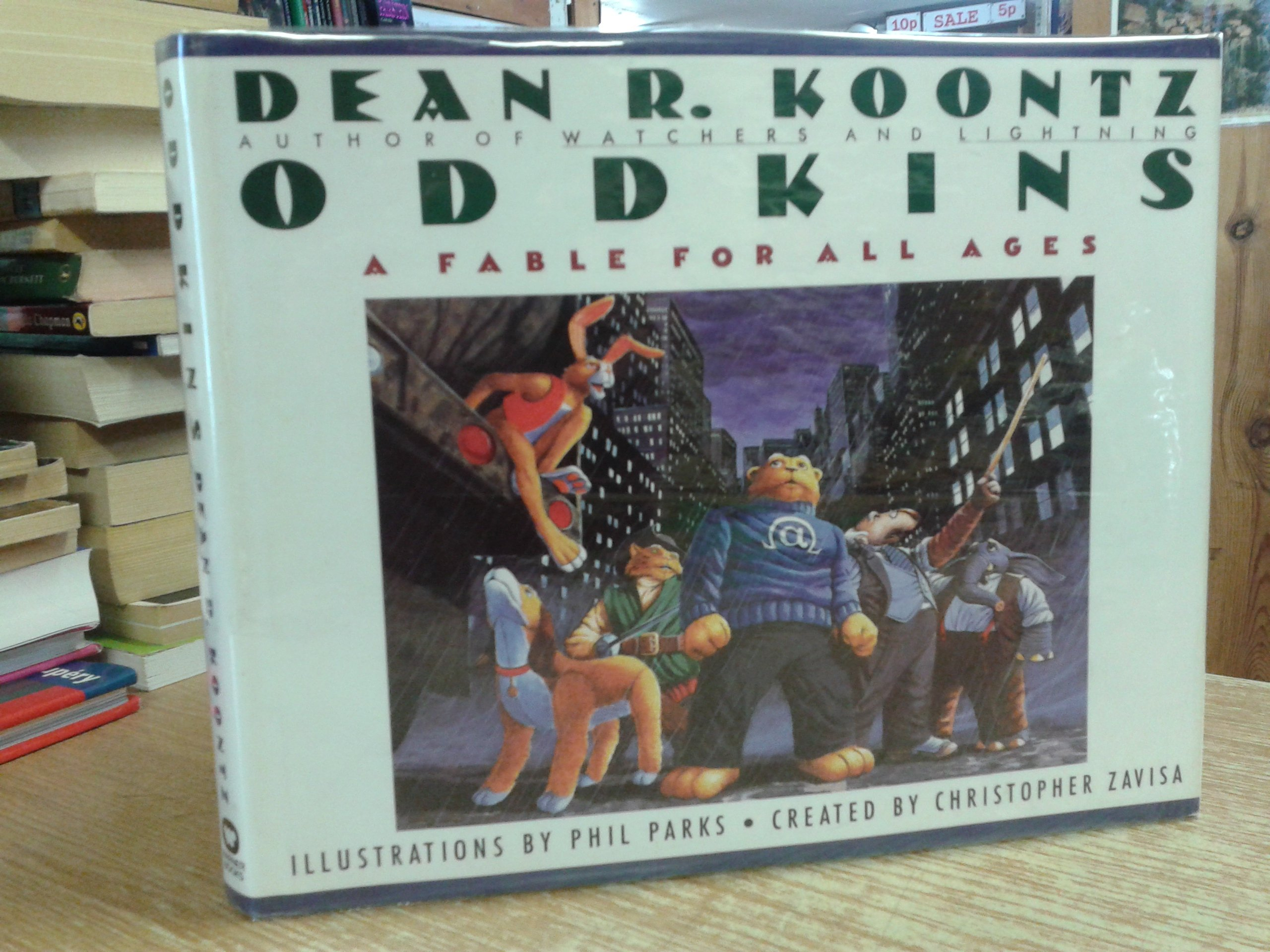 Oddkins: A Fable For All Ages: Dean R Koontz, Phil Parks: 9780446514903:  Amazon: Books