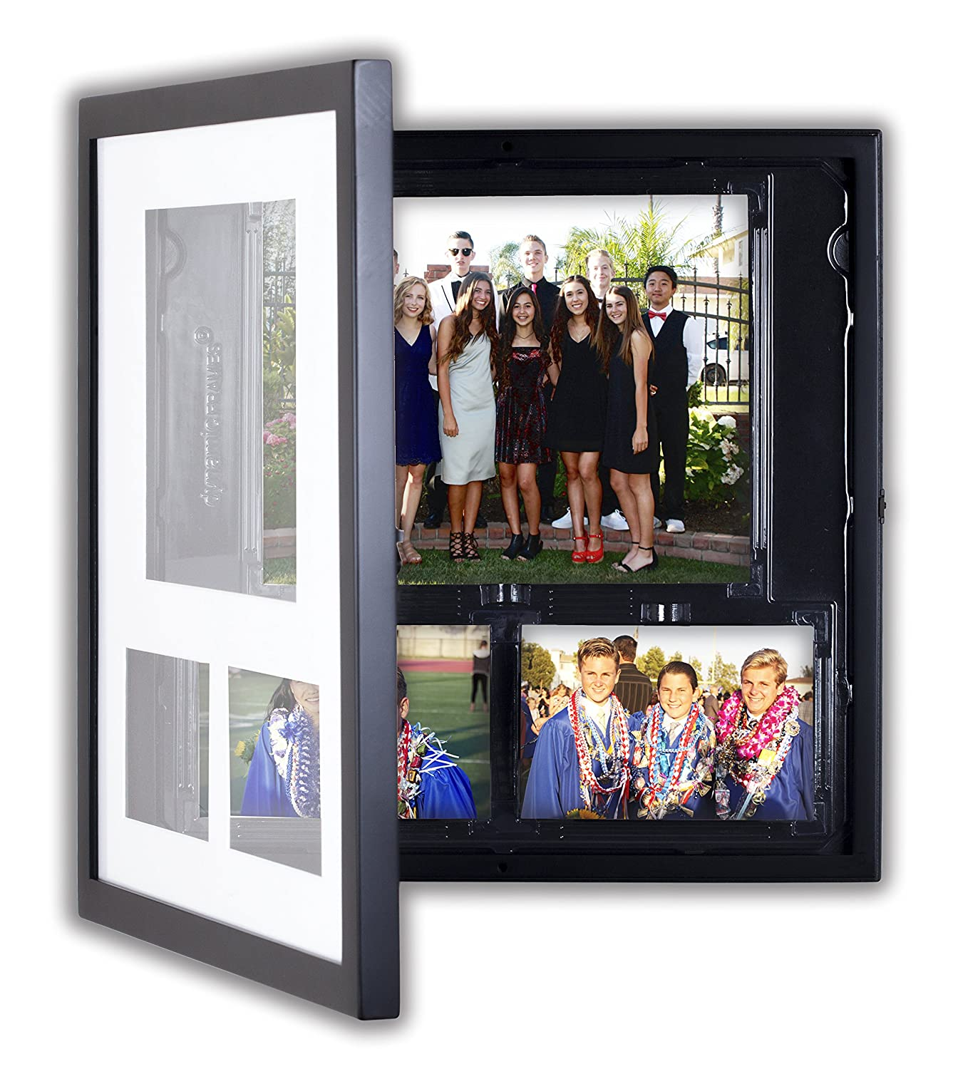 Dynamic Quadratisch Collage Display & Store Foto Schrank (1) 8x10 ...